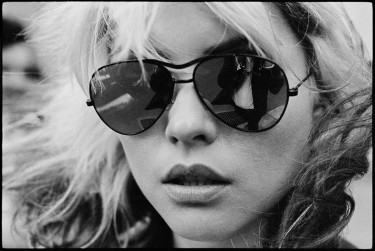 Blondie's Deborah Harry - photo by Chris Stein, late 1970s