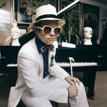 Elton John 1974 By Terry O'Neill/Getty