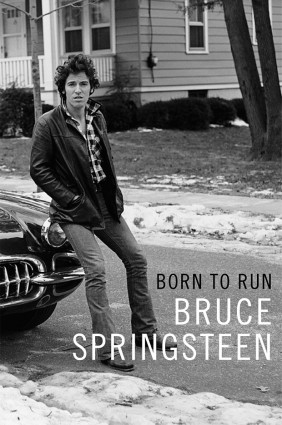 Springsteen's 'Born to Run' autobiography. Pic: Simon & Schuster