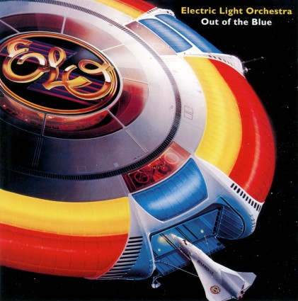 ELO Out Of The Blue Album Cover 1977