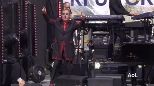 Elton is enthused.