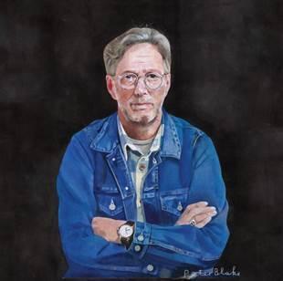 Clapton's 'I Still Do' album art by Peter Blake.