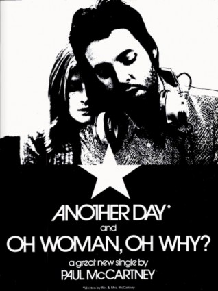 Paul McCartney, 'Another Day' (Billboard magazine, February 20, 1971) Click to enlarge.