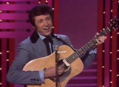 Sonny James performs on 'The Ed Sullivan Show,' 1970