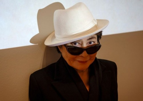 Yoko Ono at MoMA, New York. Photograph Richard Perry New York Times Redux eyevine