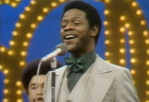Al Green loves ya right on 'Soul Train,' 1973.
