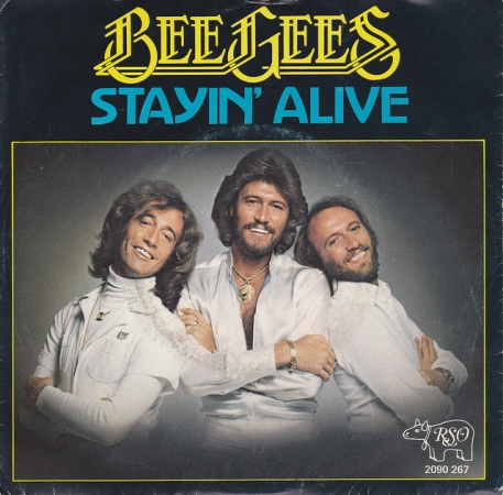 Bee Gees 'Stayin' Alive', 1977