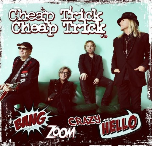 Cheap Trick 'Bang Zoom Crazy...Hello' L.P., 2016