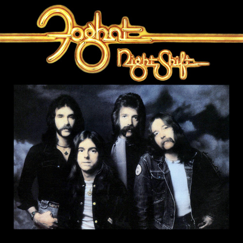 Foghat Night Shift Album 1976