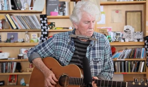 Graham Nash at NPR, March 2016