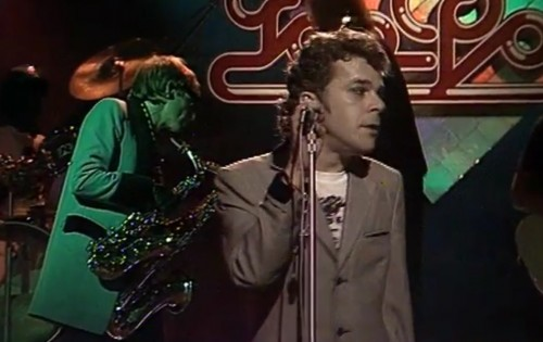 'It's nice to be a lunatic!' Ian Dury and the Blockheads, 1978