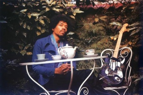 Jimi Hendrix in London, September 17, 1970 (via Vintage Everyday).