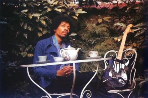 Jimi Hendrix in London, September 17, 1970 (via Vintage Everyday).