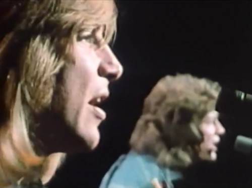 Justin Hayward & John Lodge - just a pair of singers in a rock and roll band. (The Moody Blues, 1973)