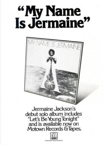 Jermaine Jackson, 'My Name Is Jermaine' ('Ebony' magazine, October 1976). Click to enlarge.