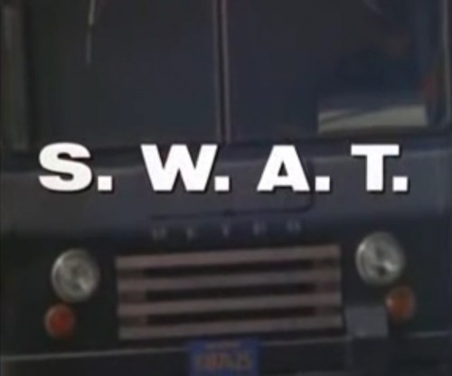 The van with the plan. ('Theme from S.W.A.T.,' 1976)
