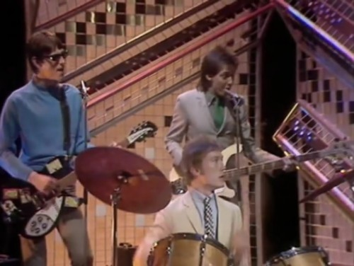 The Jam on 'Top of the Pops,' late 1979.