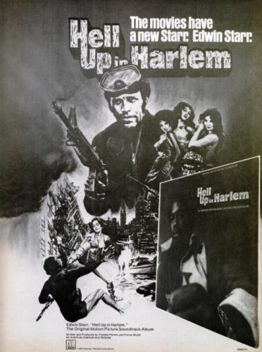 Edwin Starr, 'Hell Up In Harlem' ('Billboard' magazine, February 16, 1974)