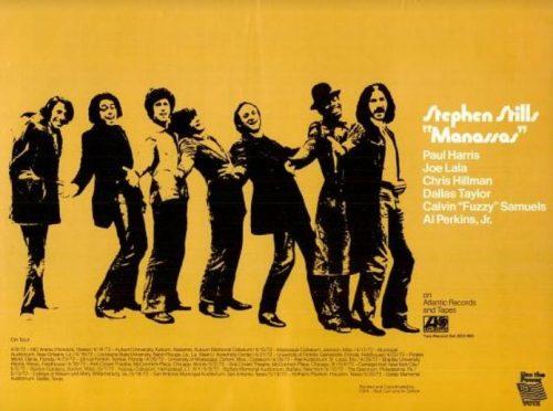 Stephen Stills, 'Manassas' ('Billboard' magazine, April 22, 1972). Click to enlarge.