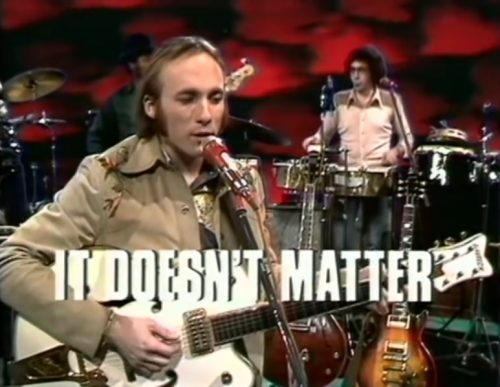 Stephen Stills & Manassas, 'It Doesn't Matter,' 1972