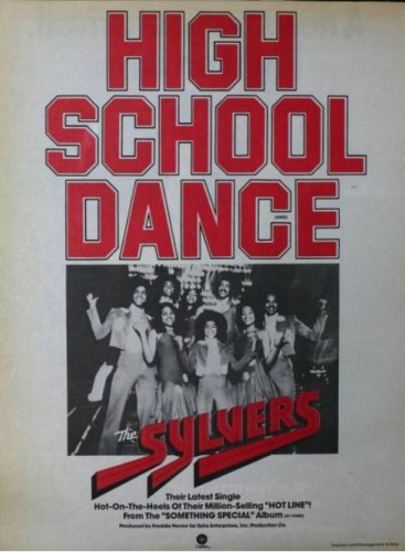 The Sylvers, 'High School Dance' ('Billboard' magazine, April 09, 1977). Click to enlarge.