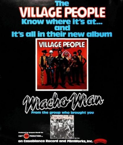 Village People, 'Macho Man' ('Billboard' magazine, March 04, 1978). Click to enlarge.