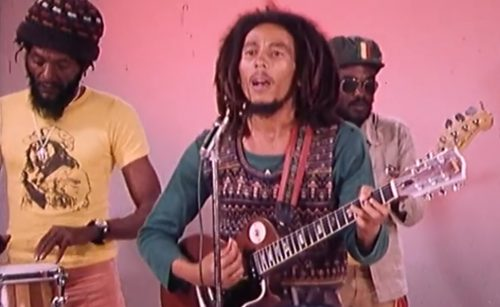 Bob Marley and the Wailers spreading a 'Positive Vibration,' 1976