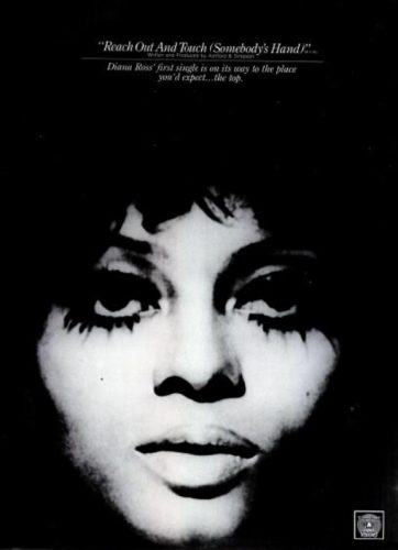 Diana Ross, 'Reach Out And Touch (Somebody's Hand)' ('Billboard' magazine, May 23, 1970). Click to enlarge.