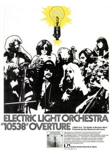 Electric Light Orchestra, '10538 Overture' ('Billboard' magazine, June 03, 1972). Click to enlarge.