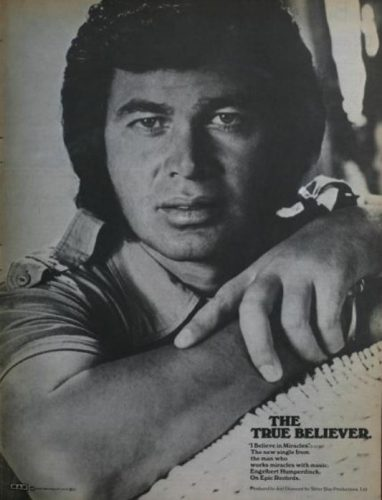 Engelbert Humperdinck, 'I Believe in Miracles' ('Billboard' magazine, April 09, 1977). Click to enlarge.