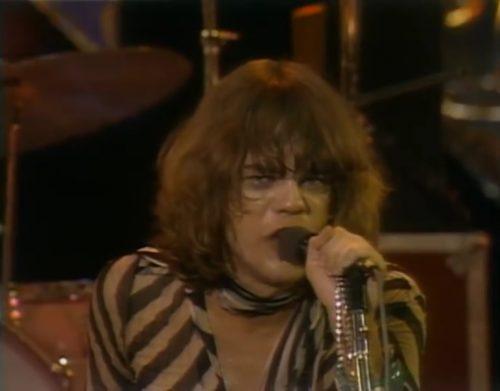 """Pick it up!"" David Johansen and New York Dolls, 1974"