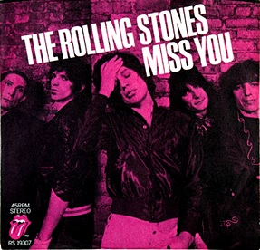 The Rolling Stones, 'Miss You' single, 1978