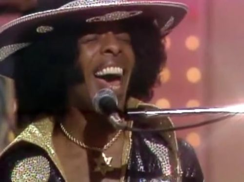 Sly & The Family Stone light up 'The Midnight Special' circa 1973.