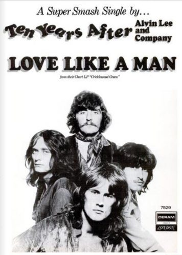 Ten Years After, 'Love Like A Man' ('Billboard' magazine, May 23, 1970). Click to enlarge.
