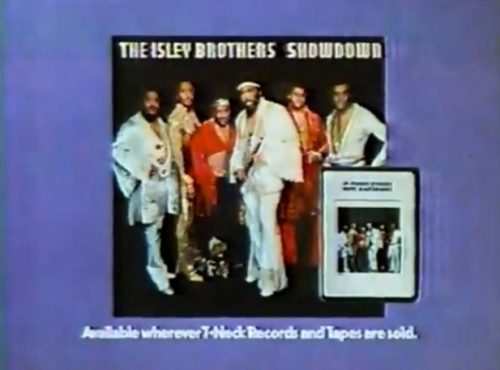 The Isley Brothers, 'Showdown' L.P. promo, 1978.