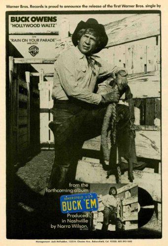 Buck Owens, 'Hollywood Waltz' ('Billboard' magazine, June 12, 1976). Click to enlarge.