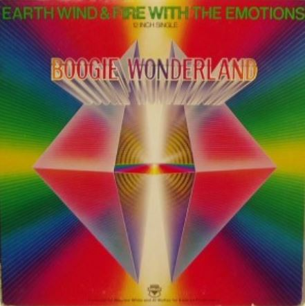 Earth, Wind & Fire with The Emotions, 'Boogie Wonderland,' 1979.