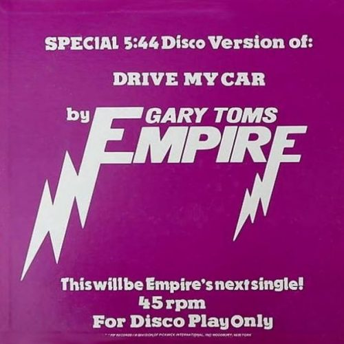Gary Toms Empire, 'Drive My Car,' 1975