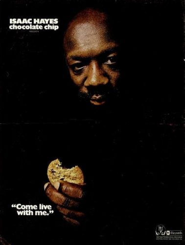 Isaac Hayes, 'Chocolate Chip' ('Billboard' magazine, June 14, 1975). Click to enlarge.