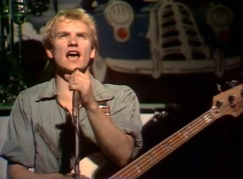 His mind is made up... (Sting & The Police, 'Roxanne,' 1979)