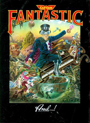Elton John, 'Captain Fantastic' ('Cashbox' magazine, May 17, 1975). Click to enlarge.