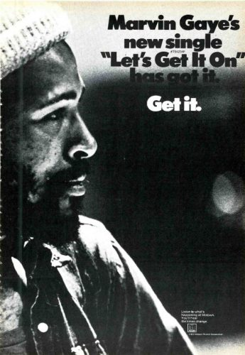 Marvin Gaye, 'Let's Get It On' ('Cashbox' magazine, June 30, 1973). Click to enlarge.