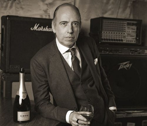 Mick Jones for Krug Island Festival UK, 2016