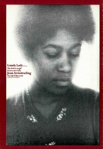 Joan Armatrading, 'Lonely Lady' ('Cashbox' magazine, June 30, 1973). Click to enlarge.