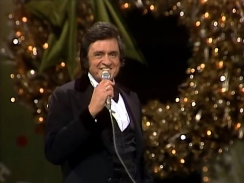 johnny cash christmas times a comin 1977