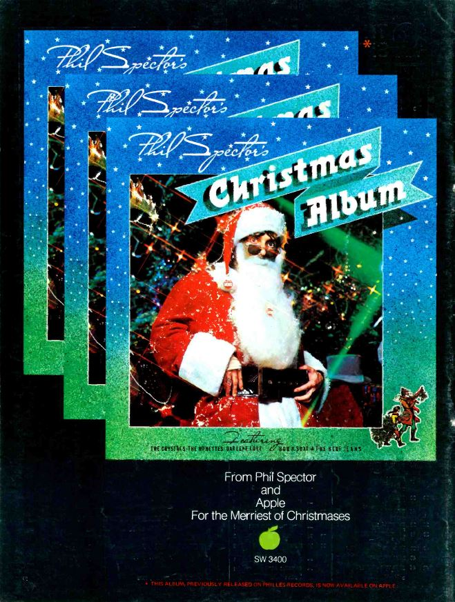 Phil Spector Christmas Album Record World Dec 09 1972 – Cherry Stereo