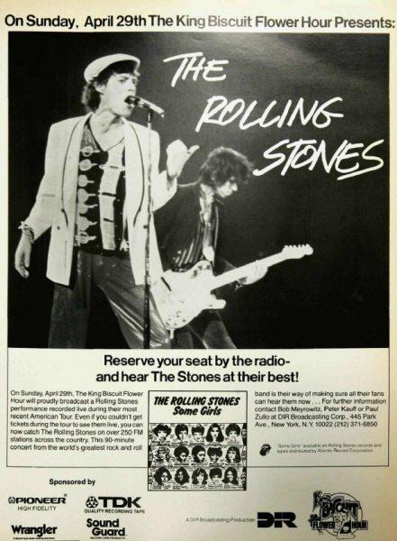 Vintage Ads (Look & Listen): Rolling Stones, 'King Biscuit