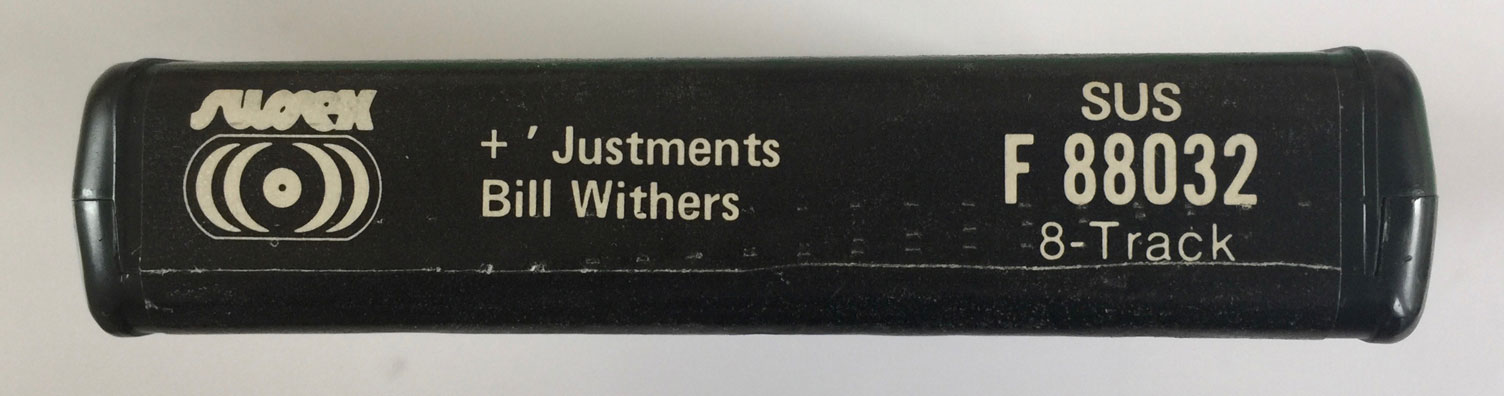 8-Trackin': Bill Withers, '+'Justments' (1974) – Cherry Stereo