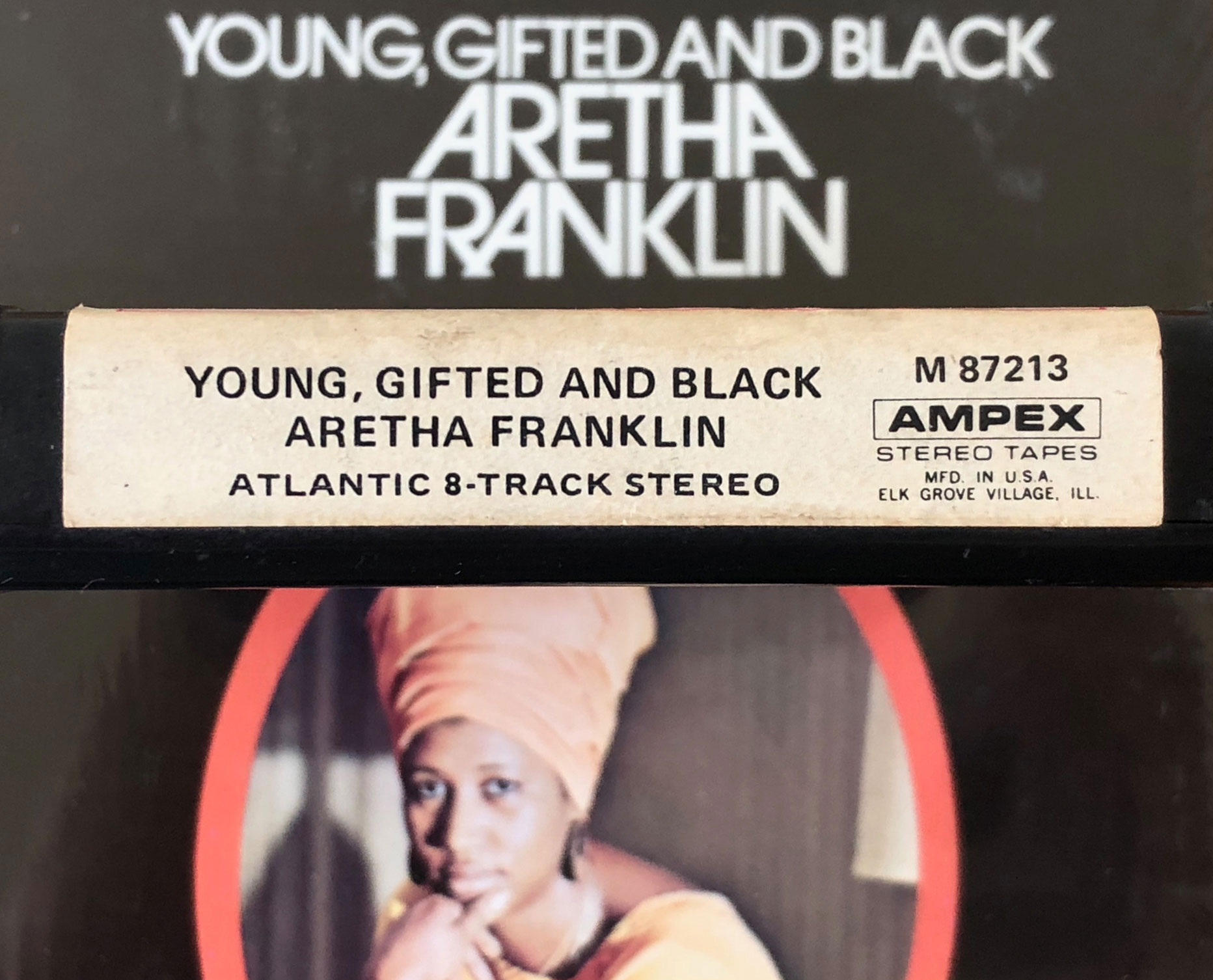8-Trackin' (A Trackin' Tribute): Aretha Franklin, 'Young