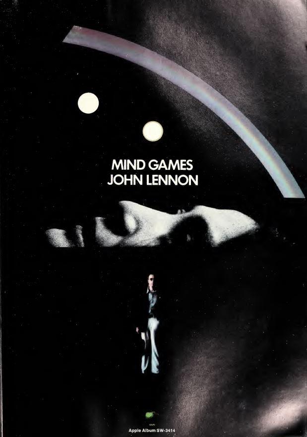 Vintage Ads Look Listen John Lennon Mind Games 1973 Cherry Stereo
